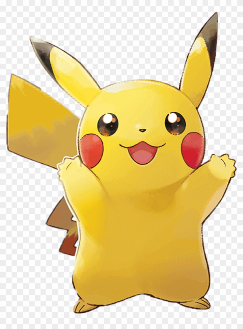 Yee Sticker Pikachu Let S Go Png Transparent Png 1024x1339