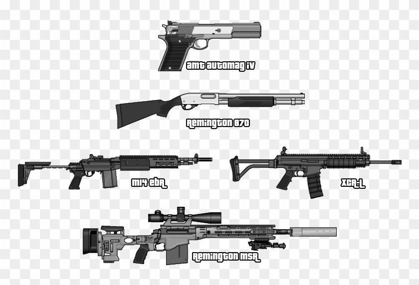 All Weapons From Gta V - Gta 6 Weapons, HD Png Download