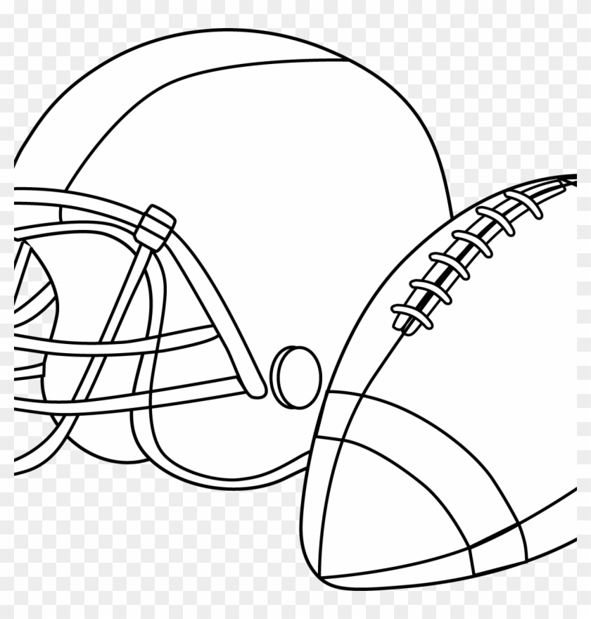 Football Helmet Coloring Pages Preschool Denver Broncos - Free Printable  Football Coloring Pages, HD Png Download - 1224x1224(#1593307) - PngFind