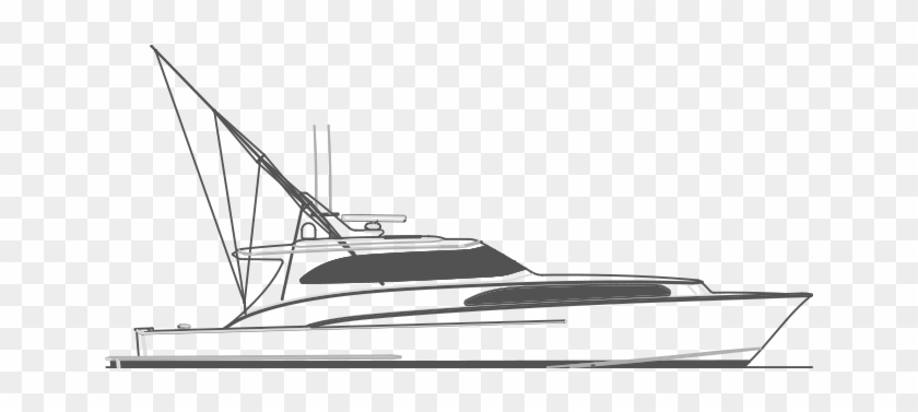 Fishing Boat Clipart Line Art Yacht Hd Png Download 900x478 1594397 Pngfind