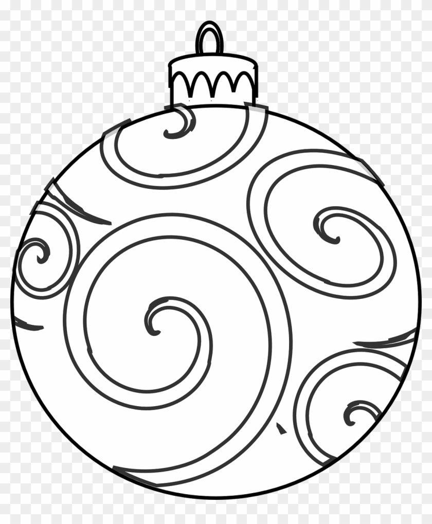 Christmas Ornament coloring page | Free Printable Coloring Pages | 1019x840