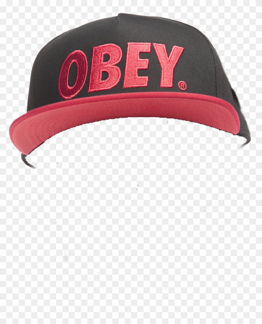 Obey Hat Mlg - Baseball Cap, HD Png Download - 1000x1000(#163564