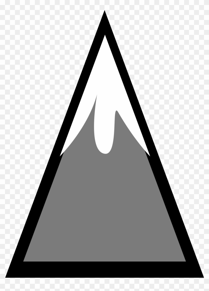 Mountain Computer Icons Symbol Triangle - Single Mountain Clipart