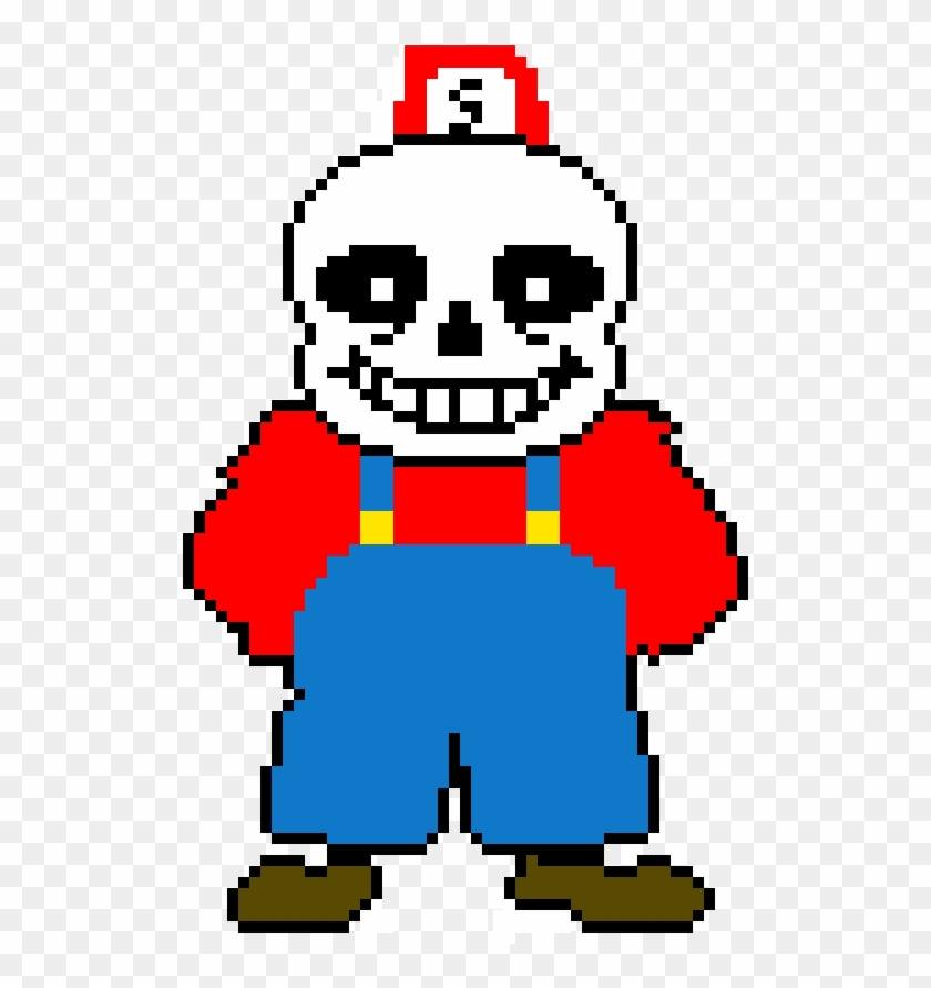 Mario Theme Sans Sprite - Sans Undertale, HD Png Download