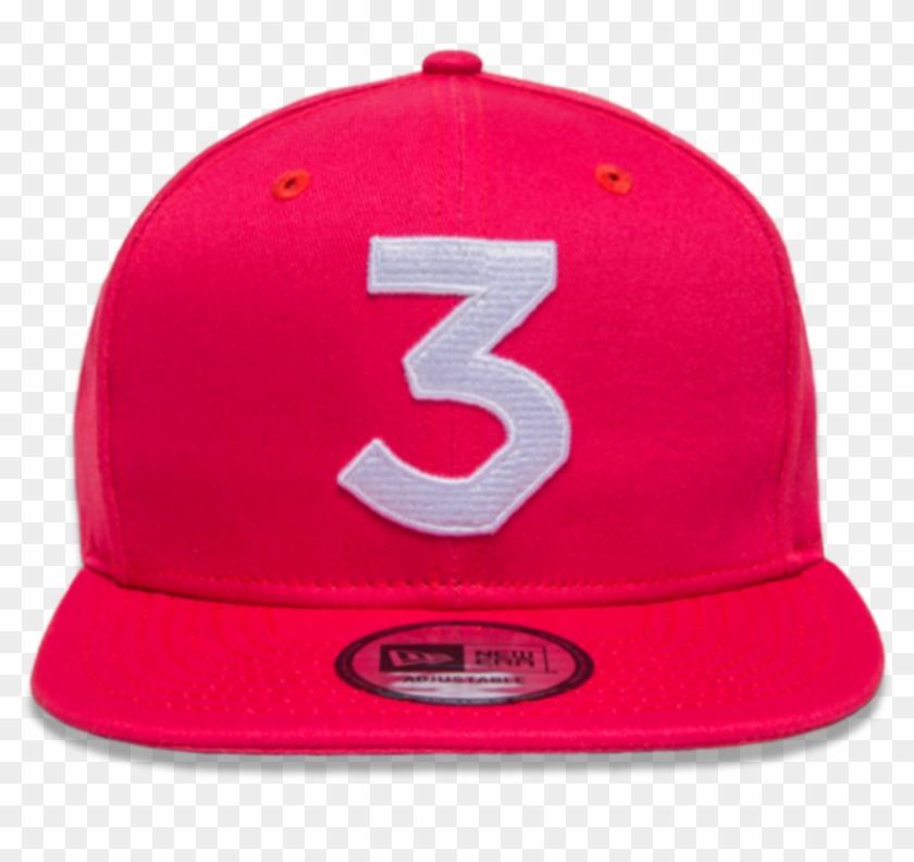 e865b9af7d933 Hat Clipart Rapper - Chance The Rapper Pink Snapback