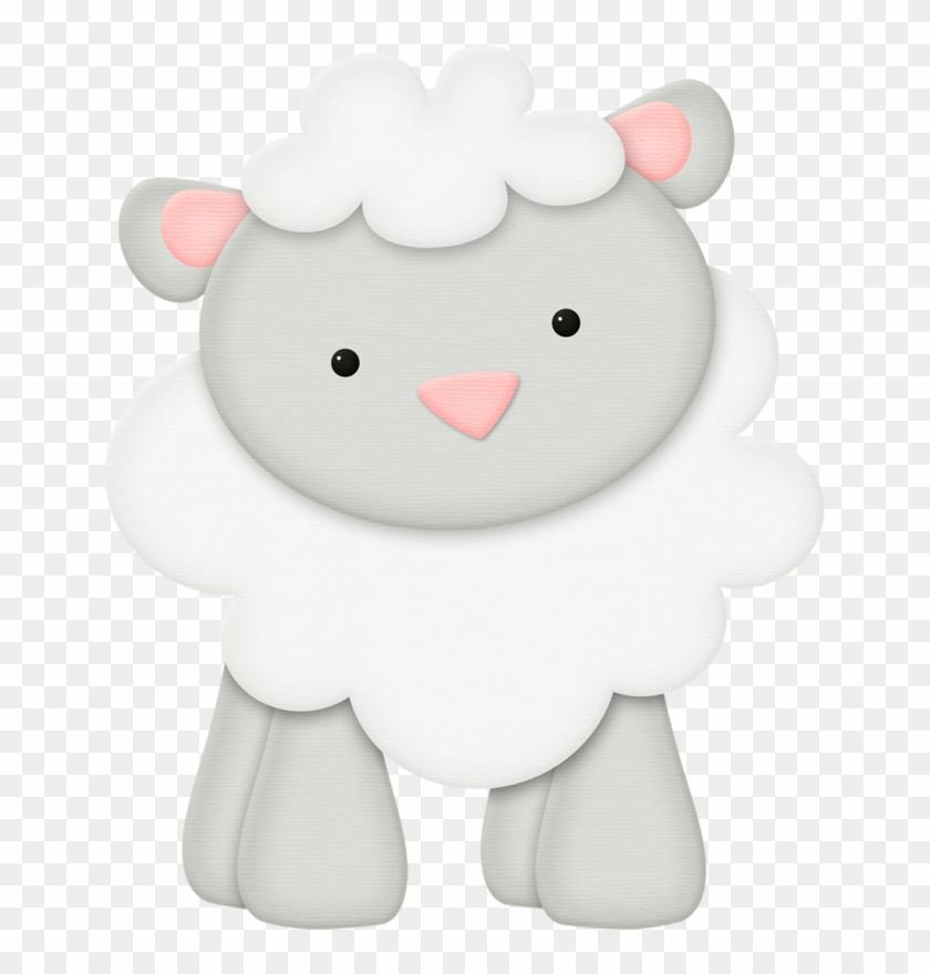 Яндекс - Фотки - Sheep Baby Farm Animals Clipart, HD Png