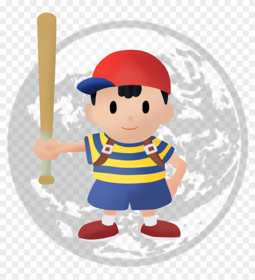 Ness - Smash Bros Earthbound Logo, HD Png Download - 1145x1278