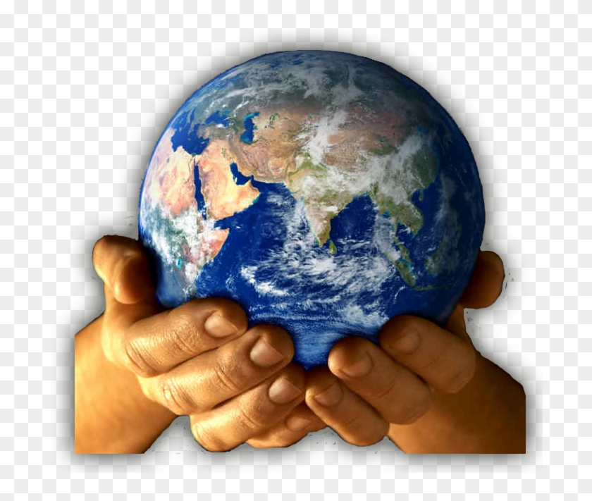 Earth In Our Hands Hd Png Download 720x630 1626371 Pngfind