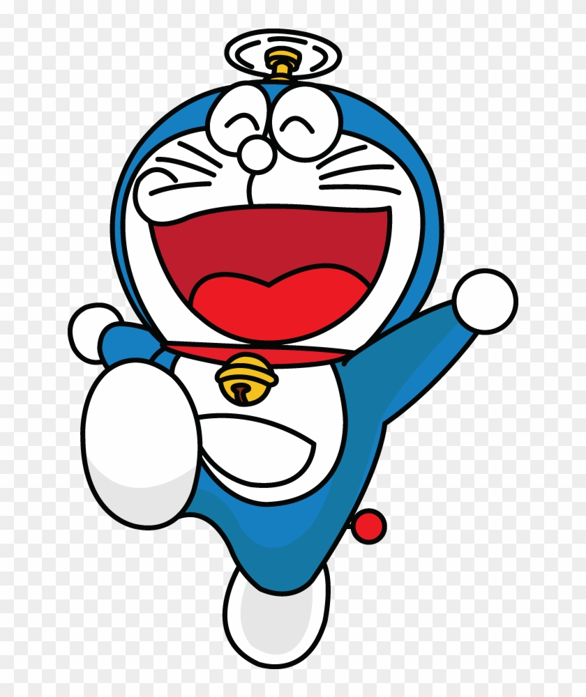How To Draw A Doraemon Easy Step By Drawing Tutorial Doraemon Drawing With Colour Hd Png Download 720x1280 1629008 Pngfind