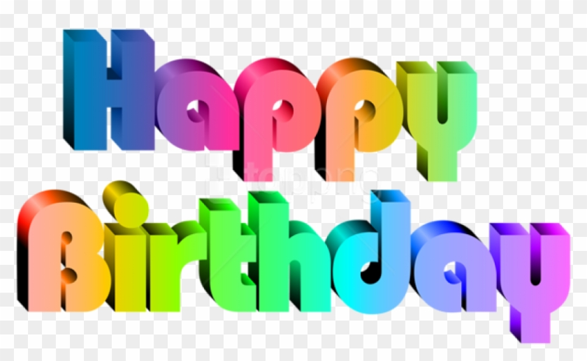 Free Png Download Happy Birthday Transparent Png Images