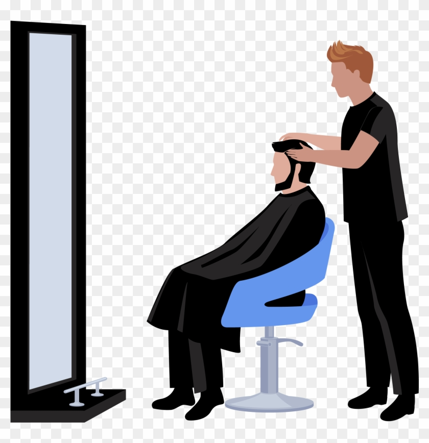 Beauty Parlour Euclidean Vector Hairdresser Hairstyle Salon For Men Clipart Hd Png Download 2288x2256 1646892 Pngfind