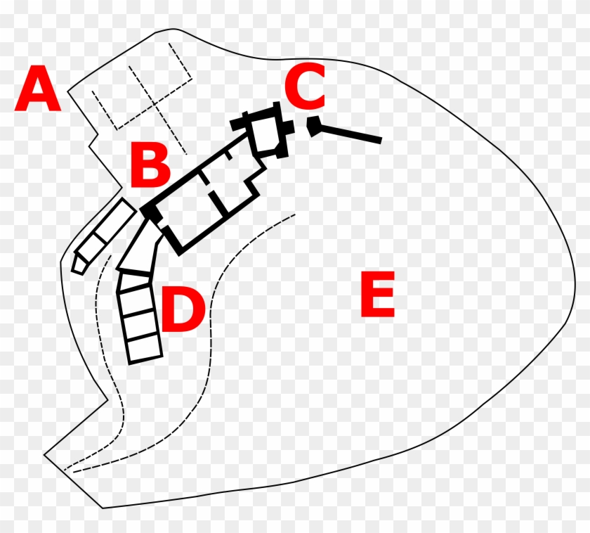 file - hay castle - schematic - garden , png download - m�nchen ortsschild,  transparent