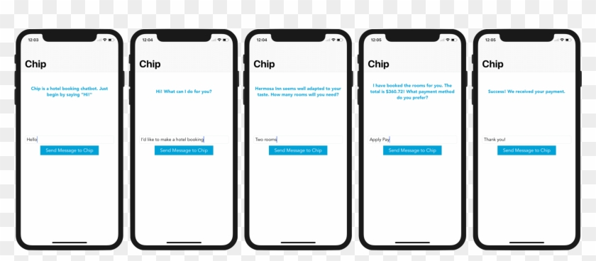 Chatbot Demo Hotel Booking - Chat Bot Iphone X, HD Png