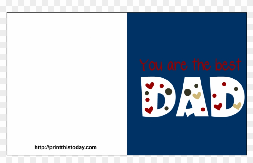graphic regarding Printable Fathers Day Card called Fathers Working day Card 4 - Printable Fathers Working day Card Versus Doggy, High definition