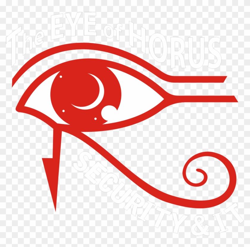 The Eye Of Horus Security - Eye Of Horus Red, HD Png