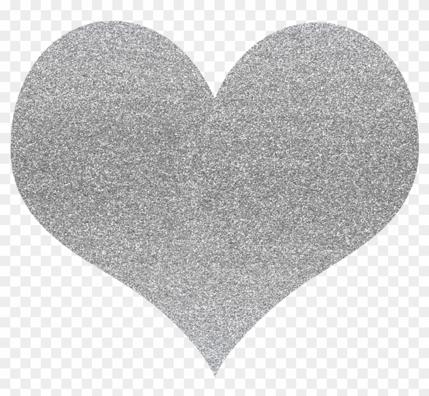 Hearts glitter. Clipart silver heart hd