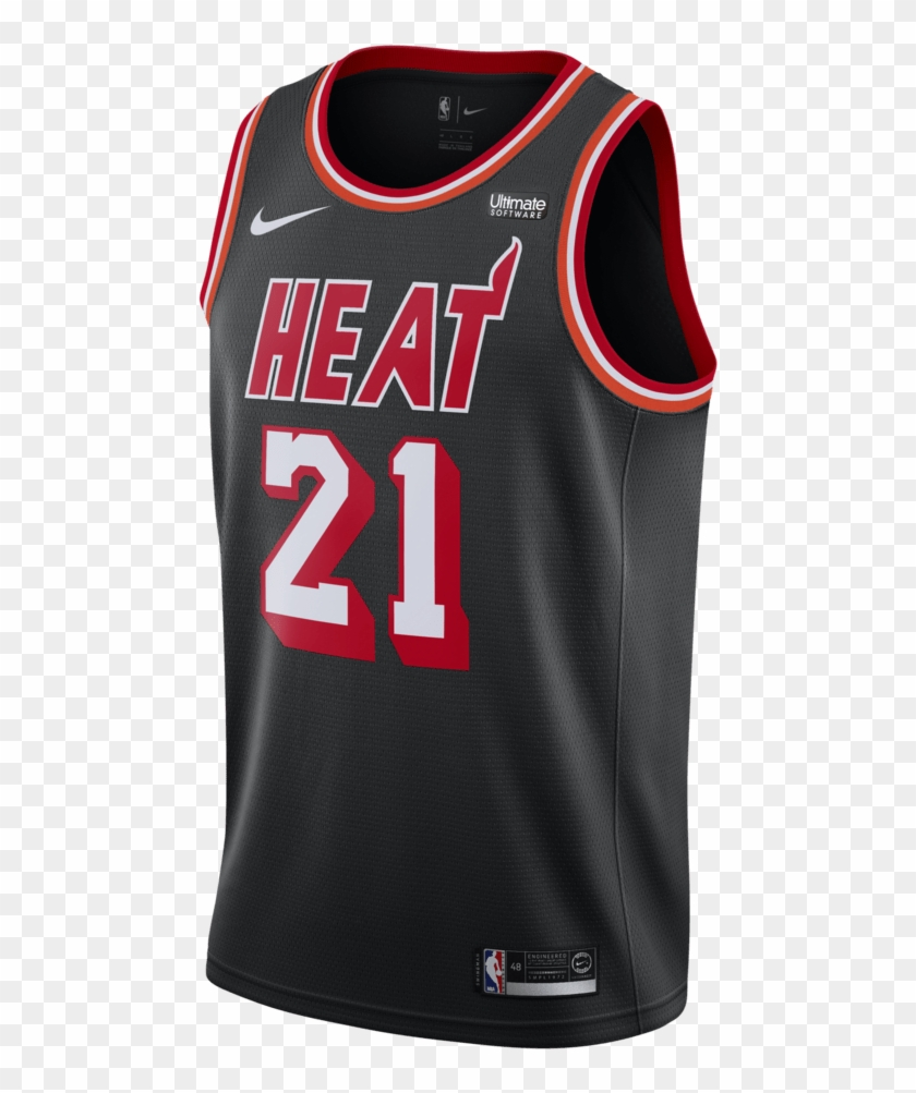 new style 79c88 a21e4 Hassan Whiteside Nike Miami Heat Classic Edition Jersey ...