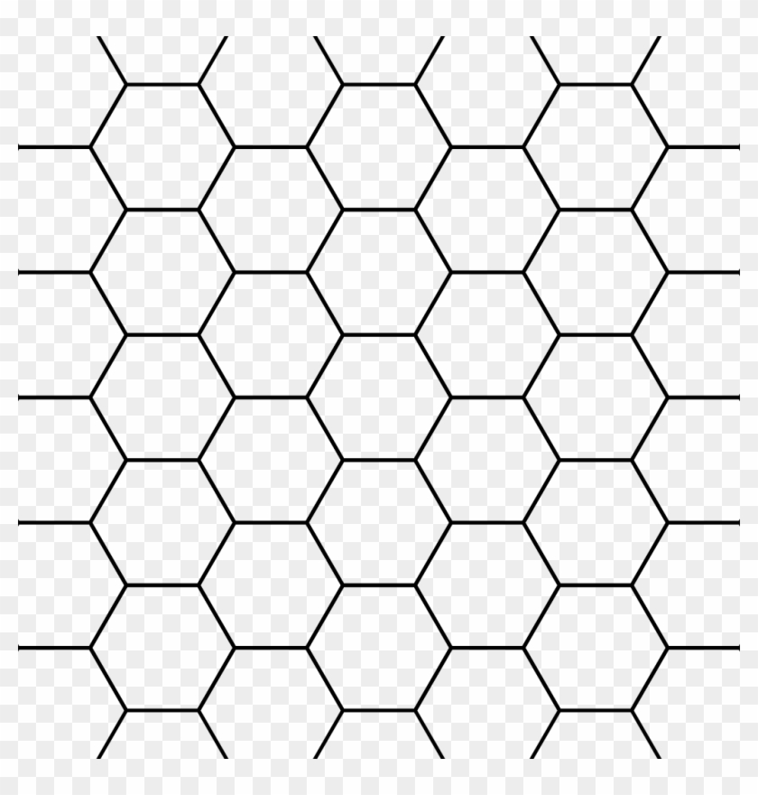 File - Hexagons - Svg - Hexagon Pattern Png Transparent, Png