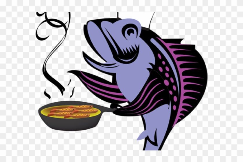 Chicken fish. Curry clipart fry frying