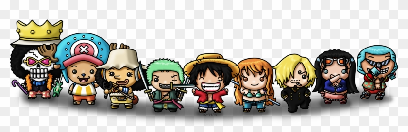 One Piece Chibi Wallpaper One Piece New World Wallpaper Chibi Hd Png Download 2083x601 1684312 Pngfind
