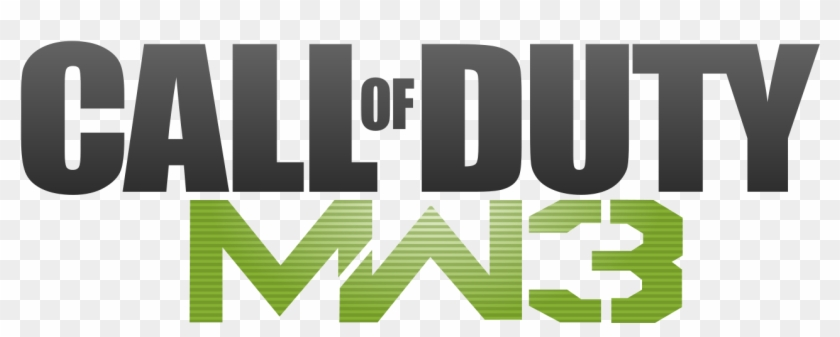 File Modernwarfare3logo Svg Call Of Duty Mw3 Logo Hd Png