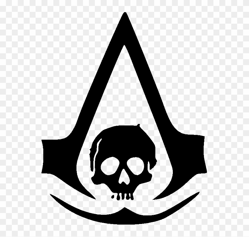 Logo Assassins Creed Black Flag Png Download Assassin S Creed