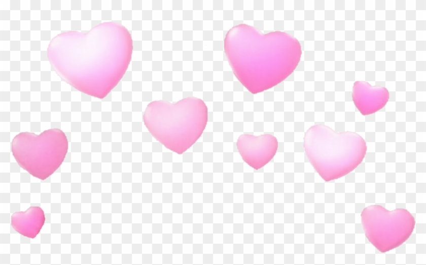 Transparent Snapchat Heart Filter, HD Png Download