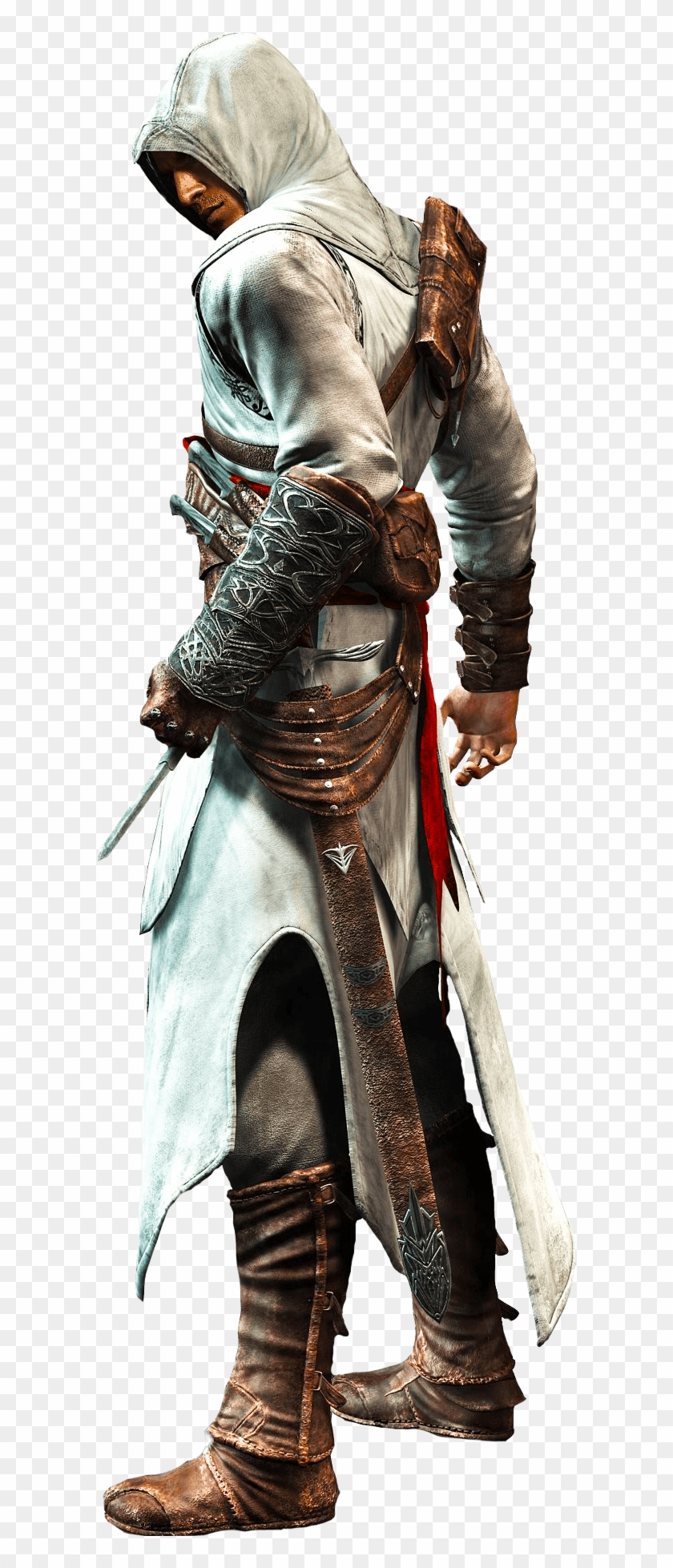 Assassins Creed Sideview Altair Ibn La Ahad Hd Png Download