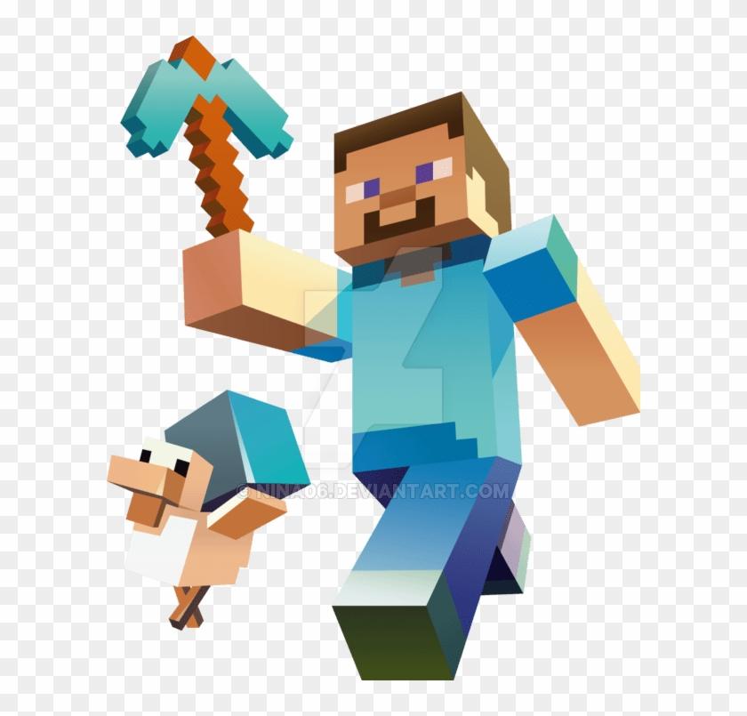Minecraft Steve Gif Transparent Hd Png Download 600x725 178238