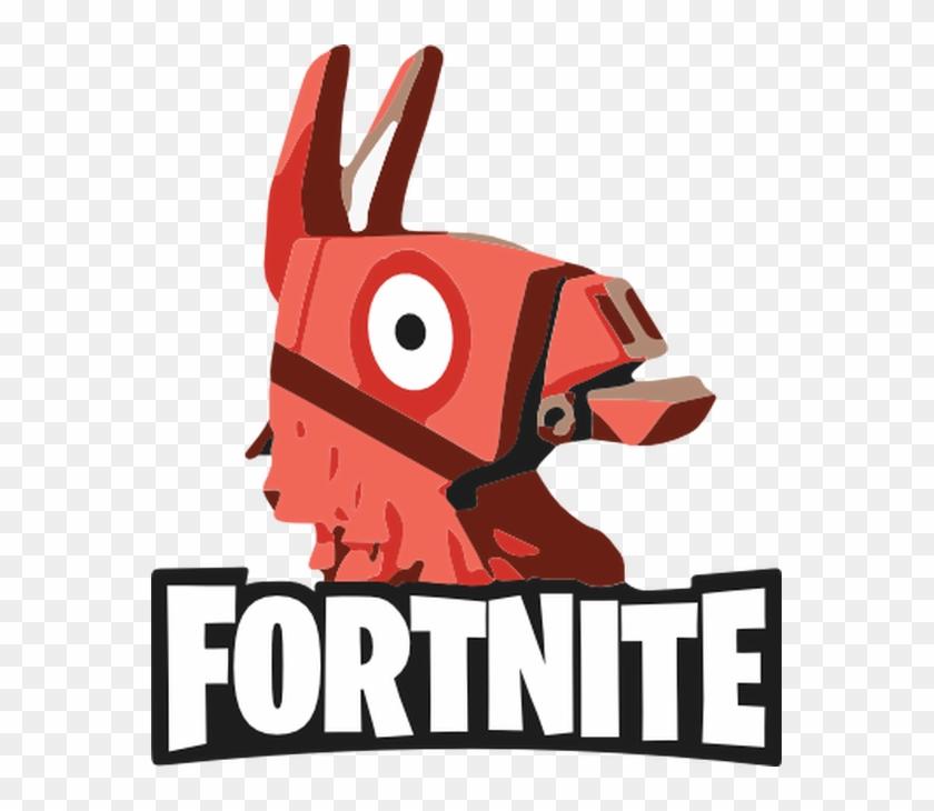 Fortnite Llama Head Fortnite Battle Royale Logo Hd Png