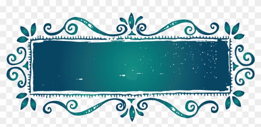 design free logo vintage retro frame template blue vintage frame png transparent png 1183x522 1706115 pngfind design free logo vintage retro frame