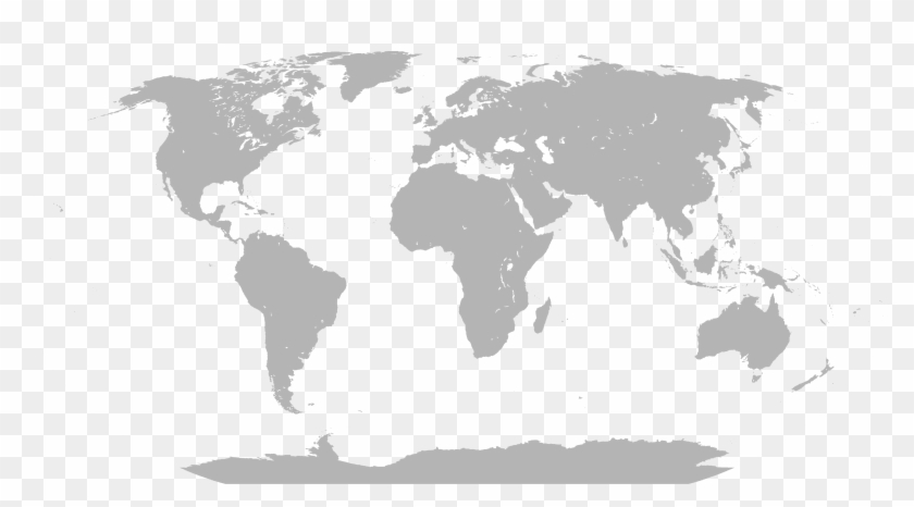 Map Of The World Simple.Simple World Map Svg Hd Png Download 5700x2940 1707175 Pngfind