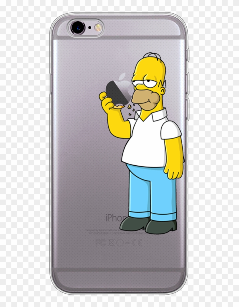 buy popular 32951 d9955 Iphone 6 6s Translucent Hard Cover Case Homer The Simpsons - Homer ...