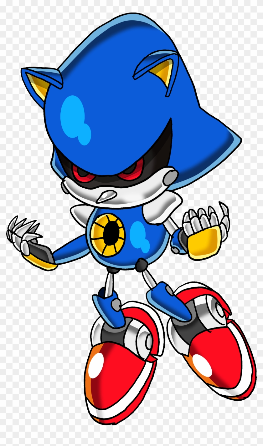 Image Classic Metal Sonic Tails19950 Png Sonic News Sonic The
