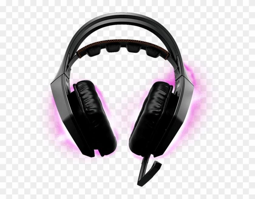 1 Surround Sound - Asus Rog Strix Headset, HD Png Download - 623x575
