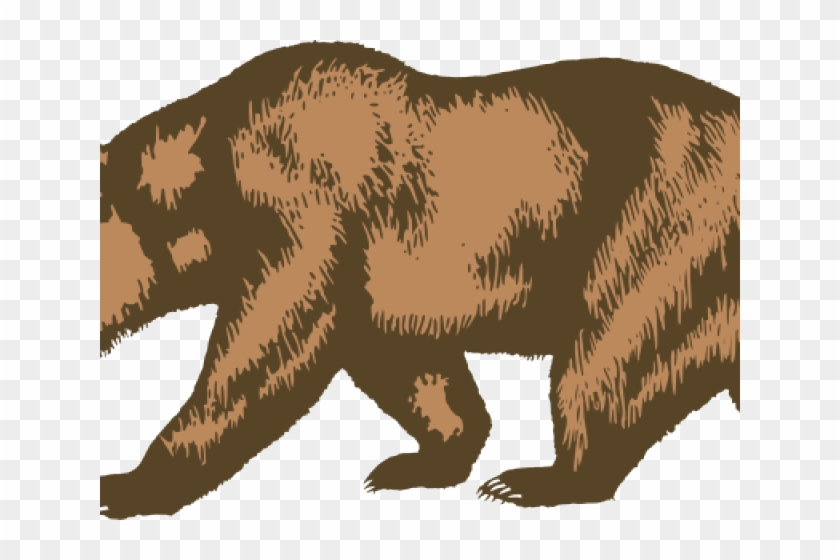 California bear. Grizzly clipart republic png