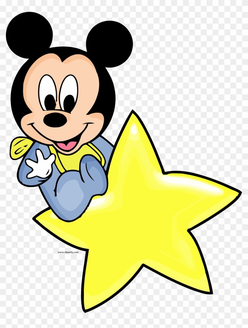 Disney Baby Star Clipart Png Baby Mickey Mouse Clip Art