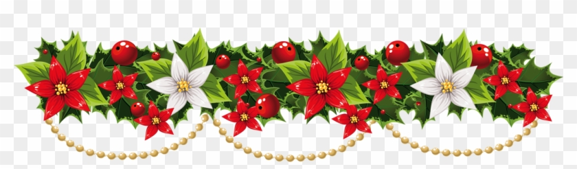 Christmas Garland Clipart Festival Collections Clip Christmas