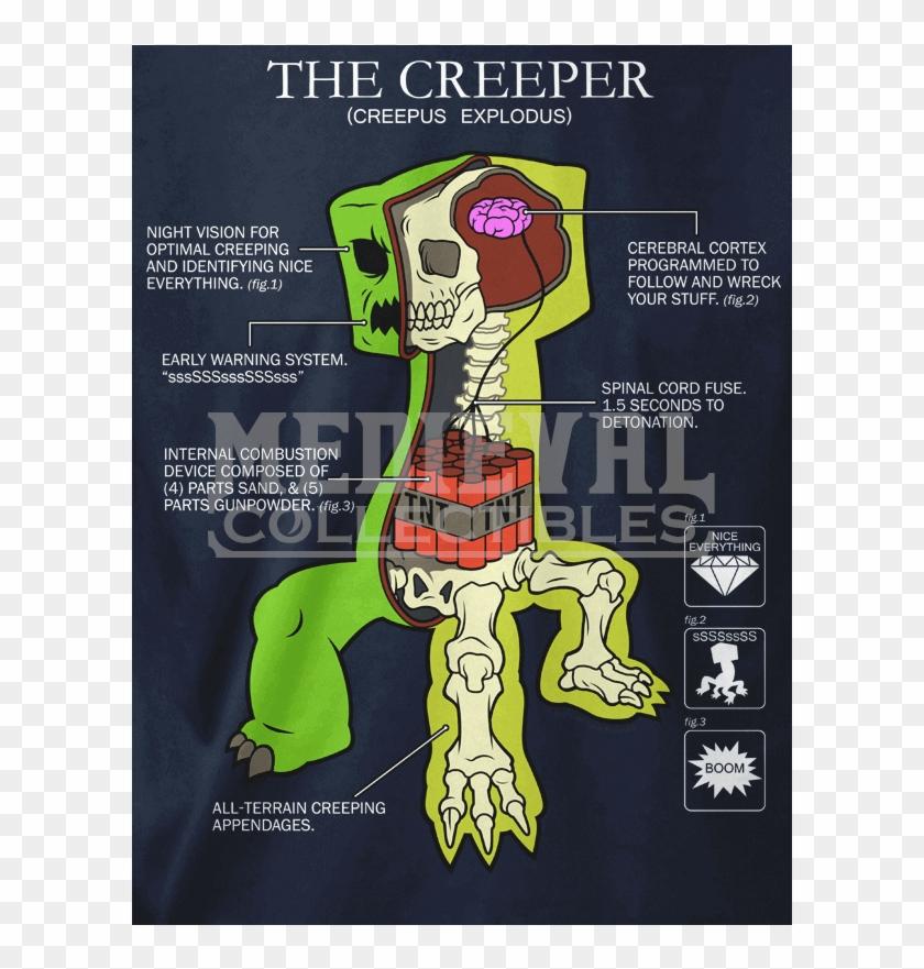 Item Creeper Minecraft Real Hd Png Download 800x8001735113