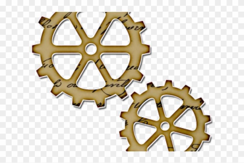 photograph regarding Printable Gears named Steampunk Machines Clipart Printable - Steampunk Gears Png
