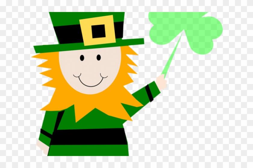 Luck Clipart Happy Leprechaun St Patricks Day Clipart Png