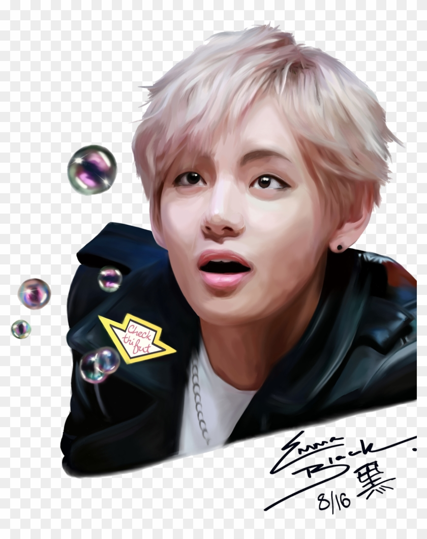 Kim Taehyung, V Of Bts, HD Png Download - 1176x1429(#1763747