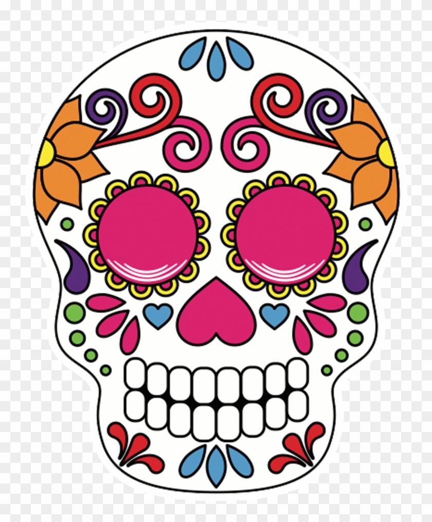 Halloween Sugar Skull Clipart - Sugar Skull No Background ...