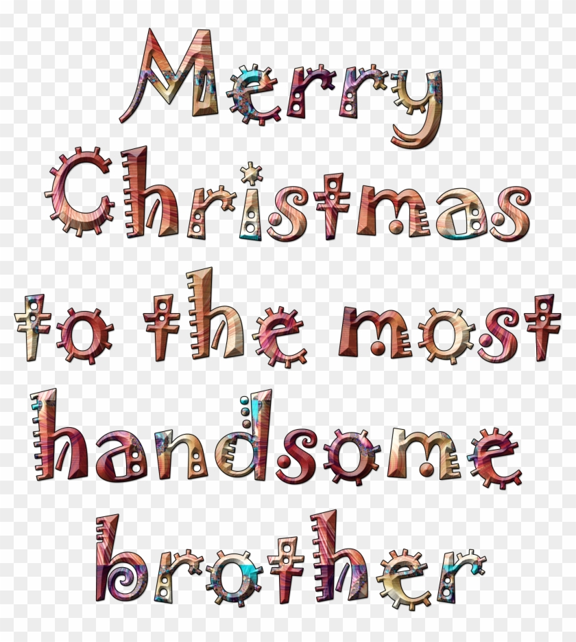 Merry Christmas Brother.Merry Christmas Brother Carmine Hd Png Download