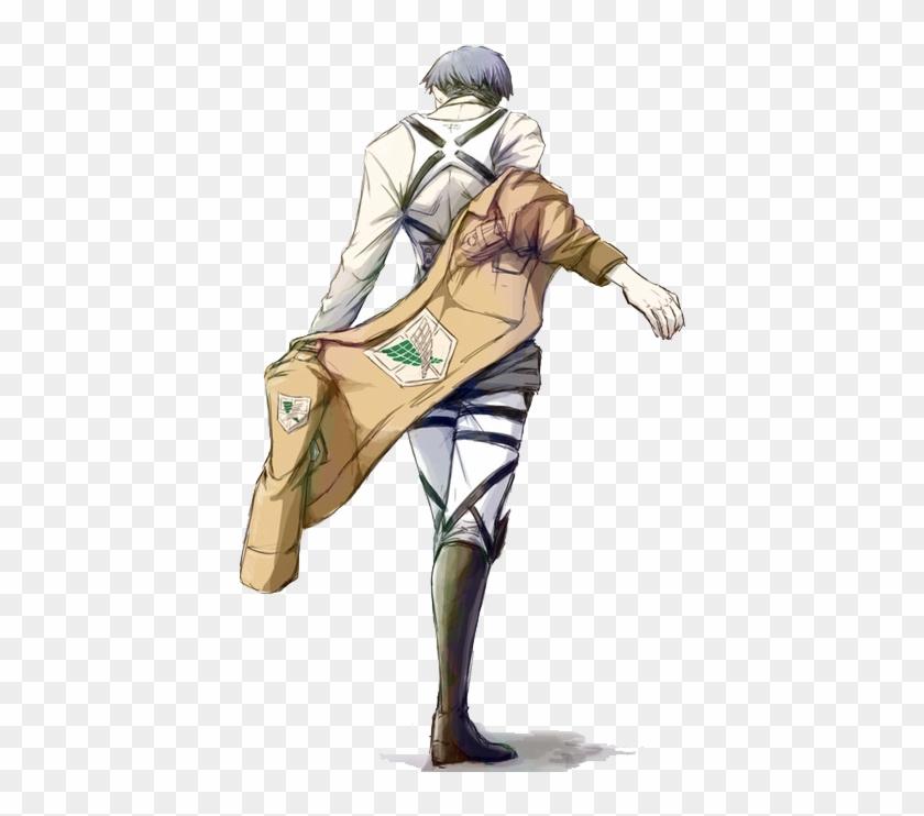 Anime Manga Levi Transparent Snk Shingeki No Kyojin Levi Ackerman Body Hd Png Download 500x667 1773629 Pngfind