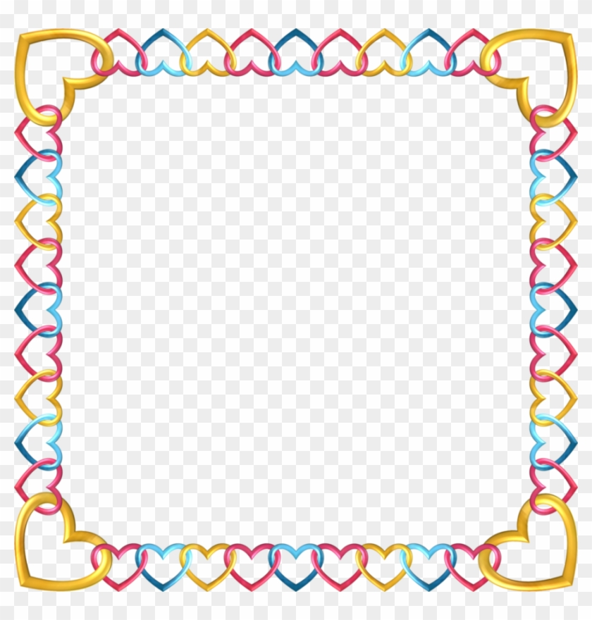 Square Frame Tropical 5 By Happyare - Feet Page Border, HD