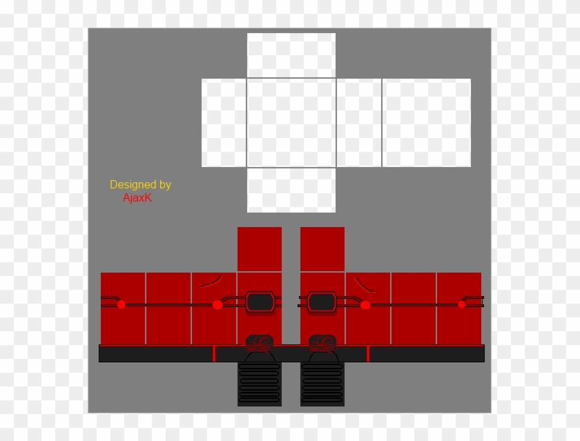Roblox Shirt Template Download 2019 Download Hd Roblox Pants Template Uniform Roblox Shirt Roblox Red Pants Template Hd Png Download 585x559 1783413 Pngfind