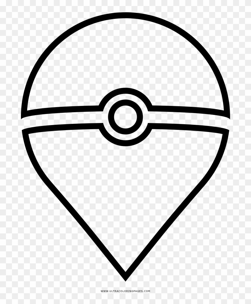 Pokemon Go Coloring Page Circle Hd Png Download 1000x1000 1790506 Pngfind