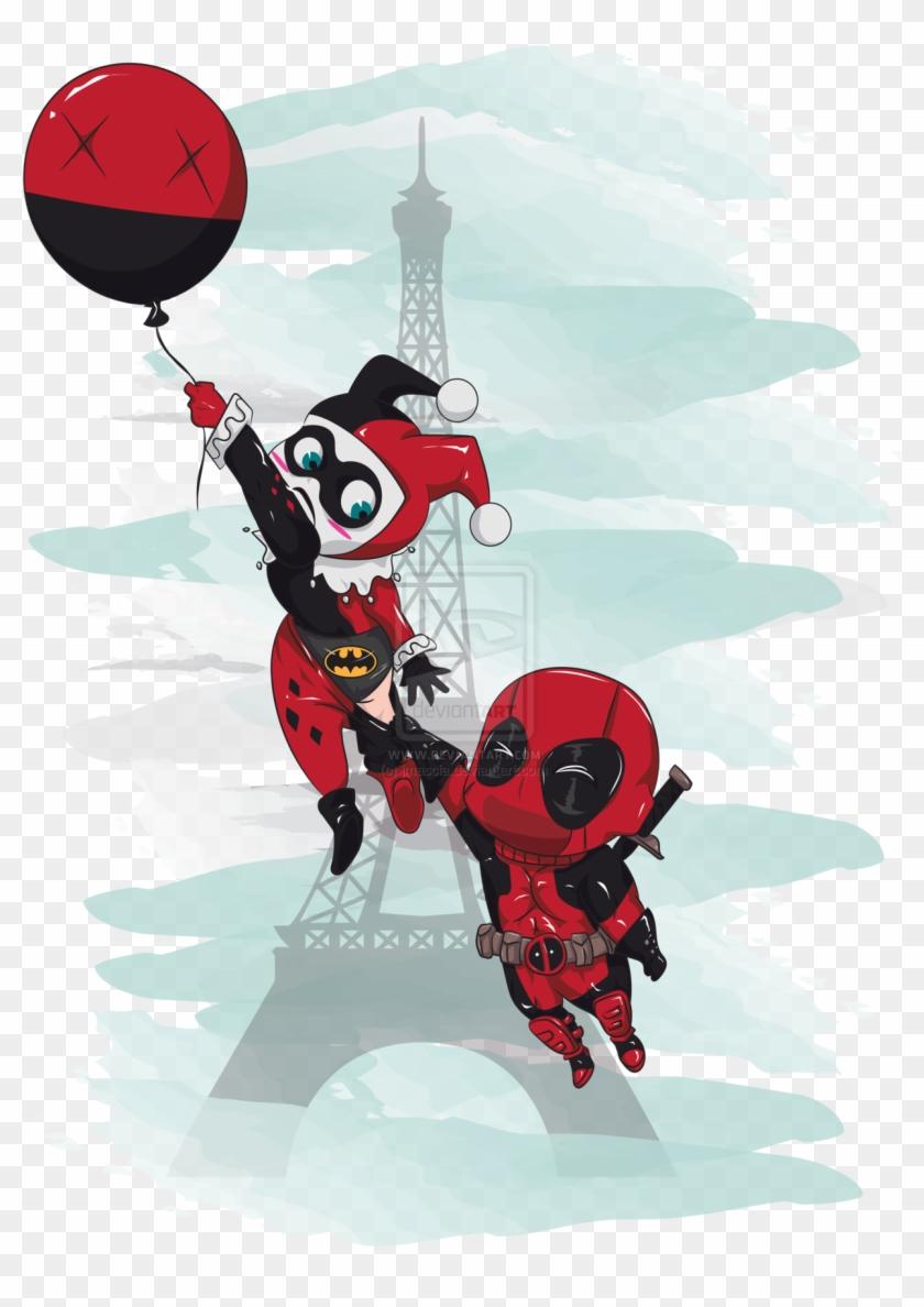 Harley Quinn Tattoo Designs Cute Deadpool And Harley Hd