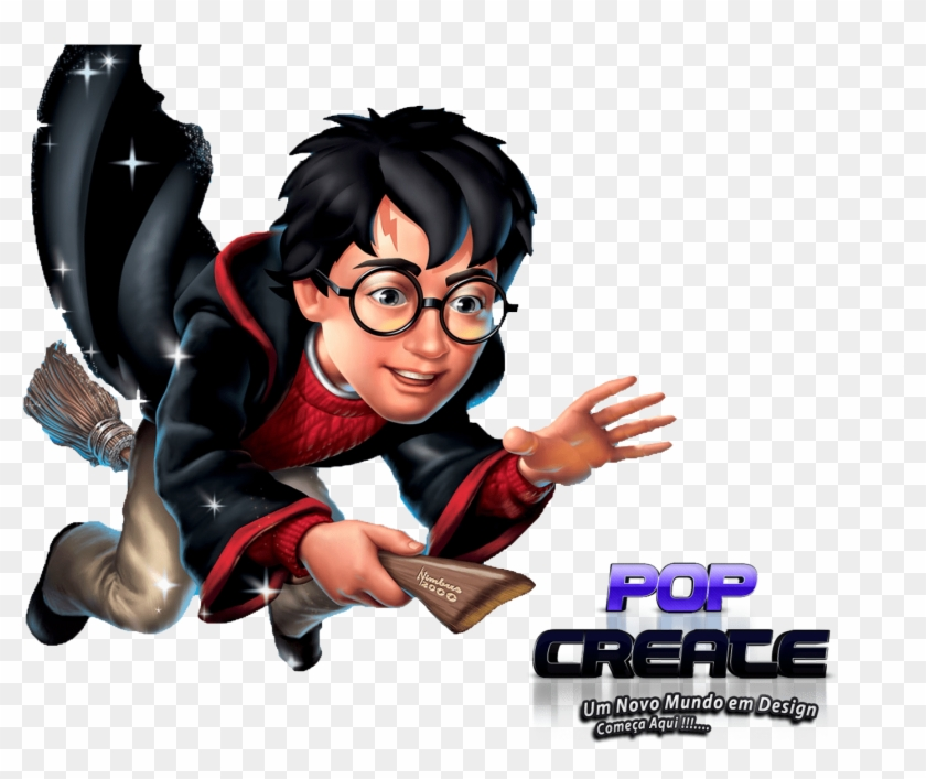 Harry Potter Coloriage Harry Sur Son Balai A Imprimer Harry